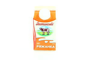 Ряженка Яготинская 4% т/п 450г