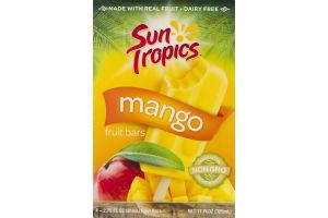 Sun Tropics Mango Fruit Bars - 4 CT