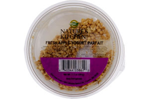 Nature's Kitchen Fresh Apple Yogurt Parfait