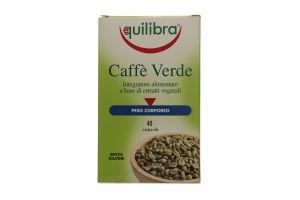 Добавка диет Equilibra Caffe Verde Зеленый кофе