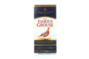 Шоколад Goldkenn з начинкою віски Феймос Граус 100г