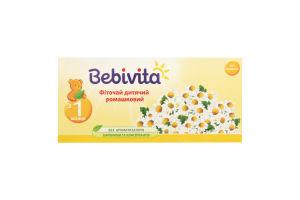 Фиточай для детей от 1мес ромашковый Bebivita 30г