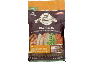 Supreme Source Grain-Free Cat Food Chicken Meal and Turkey Meal Recipe