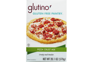 Glutino Gluten Free Pantry Pizza Crust Mix