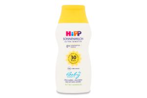 Молочко сонцезахисне SPF30 Babysanft Hipp 200мл