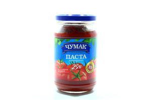 Паста томатная 25% Чумак с/б 350г
