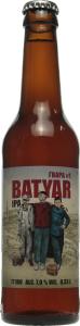 Пиво 0.33л 7.0% світле нефільтроване Правда Гвара #1. Batyar IPA бут