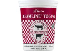 Ronnybrook Farm Plain Creamline Yogurt