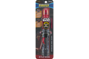 Firefly Disney Star Wars Lightsaber Lightup Timer Toothbrush Kylo Ren Soft