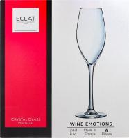 Набор бокалов для шампанского 240мл №L7591 Wine Emotions Eclat 1шт