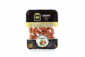 Ковбаски Cremio міні салямі з птиці горіх с/к в/г 500г