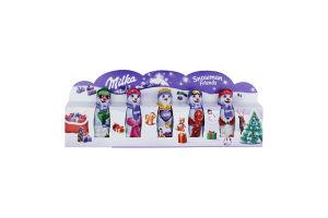 Шоколад фігурний молочний Snowman Friends Milka к/у 5х15г