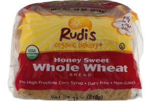 Rudi's Organic Bakery Honey Sweet Whole Wheat Bread