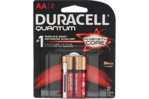 Duracell Quantum Batteries AA - 2 CT