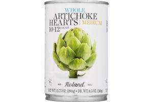 Roland Whole Artichoke Hearts Medium