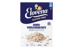 Пластівці вівсяні з цільного зерна без глютену Elovena к/у 500г