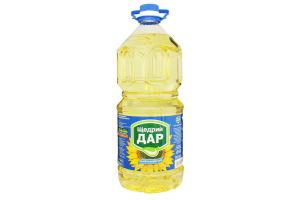 Масло подсолнечное рафинированное Щедрий дар 3л