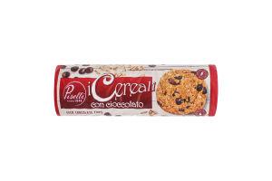 Печиво вівсяне з шоколадом Piselli м/у 250г