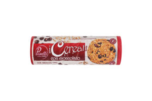 Печенье овсяное с шоколадом Piselli м/у 250г