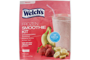 Welch's Frozen Smoothie Kit Strawberry Banana - 2 CT