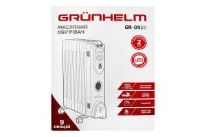 Обогреватель масляный GR-0920 Grunhelm 1шт