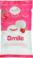 Зефір з малиновою начинкою Smile Жако м/у 300г