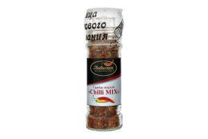 Приправа смесь перцев Chilli mix Любисток с/б 75г