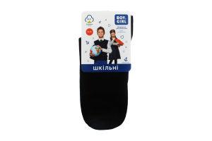 Шкарпетки дитячі Boy&Girl №411 23-25 чорний