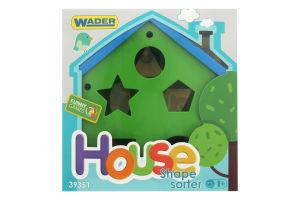 Игрушка-сортер для детей от 12мес №39351 House Wader 1шт