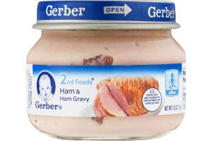 Gerber 2nd Foods Ham & Ham Gravy