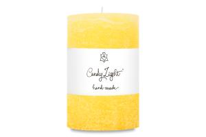 Свеча Candy Light цилиндр ваниль С10*15/1-1.8