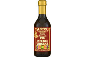 Alessi White Balsamic Fig Infused Vinegar