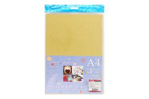 Набор бумаги с блестками 10шт в ассортименте Y1