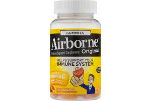 Airborne Original Ummune System Gummies Assorted Fruit Flavors - 42 CT