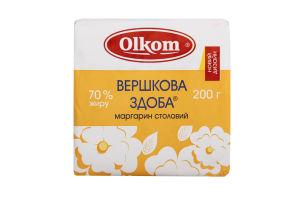 Маргарин 70% столовый Сливочная Сдоба Olkom м/у 200г