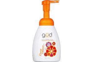 Gud from Burt's Bees Natural Orange Petalooza Foaming Hand Wash