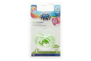 Пустушка для дітей від 18міс силіконова кругла №22/415 Canpol babies 1шт