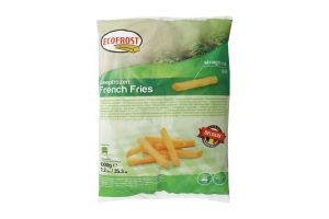 Картофель Фри Ecofrost свежезамороженный