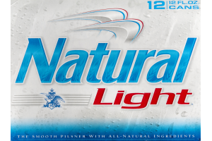 Natural Light Beer Cans - 12 CT