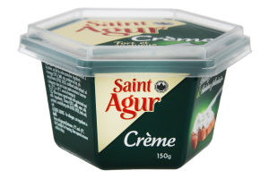 Крем-сыр плавленый 55% Creme Saint Agur ст 150г