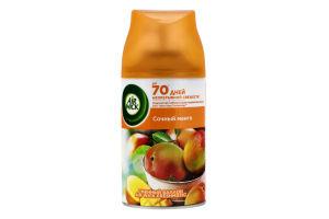 Балон змінний до автоматичного освіжувача повітря Соковитий манго Тропічні фантазії Freshmatic Air Wick 250мл