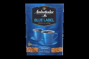 Кава натуральна розчинна сублімована Blue Label Ambassador д/п 120г