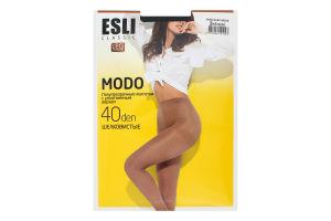 Колготки жіночі Esli Modo №8С-38СПЕ 40den 2-S nero