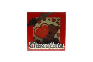 Шоколад Шоколадні чудеса Листівка Ведмедик I lоve you 55гх12