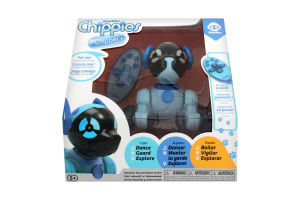 Іграшка для дітей від 5 років блакитний Чіппер Маленький Щеня Chippies WowWee 1шт