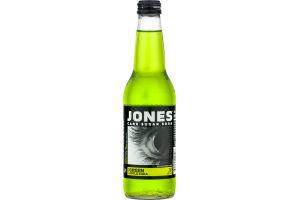 Jones Cane Sugar Soda Green Apple
