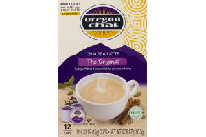 Oregon Chai Chai Tea Latte The Original Cups - 12 CT