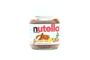 Паста ореховая с какао Nutella с/б 350г