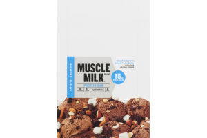 Muscle Milk Protein Bar Double Rocky Road - 12 CT