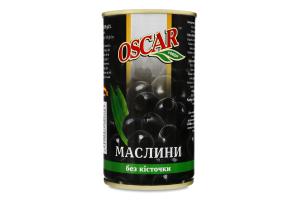 Маслини без кісточки Oscar foods з/б 350г